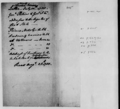 Records Relating to Indian Affairs, 1765-89 > Page 415