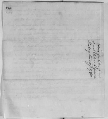 Records Relating to Indian Affairs, 1765-89 > Page 444