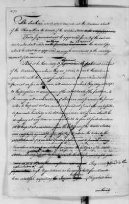 Records Relating to Indian Affairs, 1765-89 > Page 470