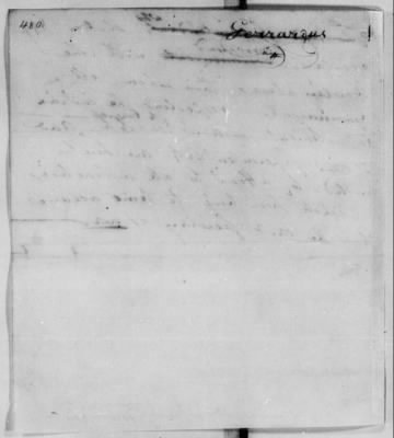 Records Relating to Indian Affairs, 1765-89 > Page 480