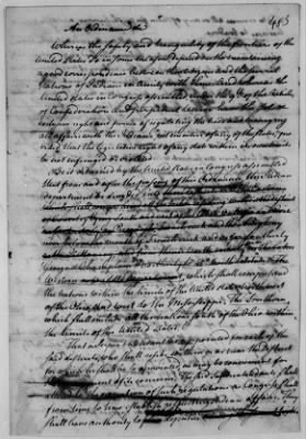 Records Relating to Indian Affairs, 1765-89 > Page 483