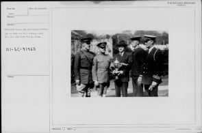 President Coolidge holding trophy for Army and Navy football game - Page 2