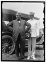 Lindley Miller Garrison, the Secretary of War, with Hunter Liggett, then head of the Army War College..jpg