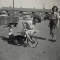 Mom on the tricycle