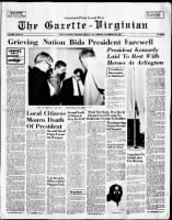 Nation Mourns the Assassination of John F Kennedy