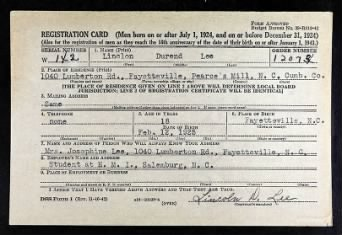 Lee, Lincoln Durand - US WW II Draft Cards Young Men 1940-1947.jpg