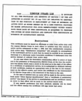 Lee, Lincoln Durand - USMC Certificate of Honorable & Satisfory Service in WW II - Pg 2.jpg