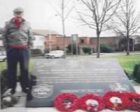 Memorial to the US soldiers who served at RAF Sudbury, Suffolk in WW II (400 US servicemen died on missions from here).jpg
