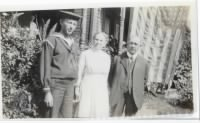 1917, JUN or SEP - Struble - Howard Sr with Gr Rebecca & Gr Lemison, he was in the Navy in WW I.jpg