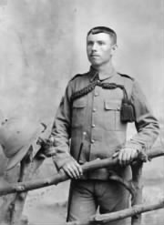Private Thomas Harry Evans. Reported missing, aged 27, during the First Battle of Ypres on 29 October 1914. He is commemorated on the Menin Gate at Ypres.