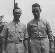 Ralph Anderson and his brother, John