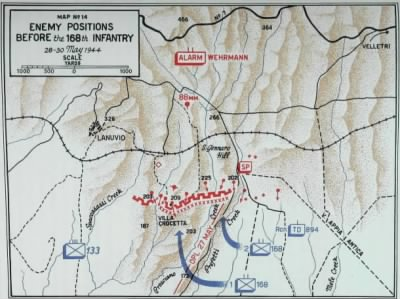 Villa Crocetta Map from the Fifth Army History Part V, Chapter VII.jpg