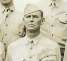John F. Perkins (1908–1984), 894th Tank Destroyer Battalion at Fort Bragg, July 3, 1942 (Courtesy of the Newton family).jpg