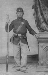 Private Lewis Simpson, Company K of the 89th NY Volunteers.
