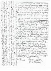 Private Lewis Letter 8/18/1862 - Page 2