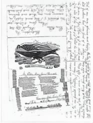 Copy of Private Lewis Simpson Letter 8/18/1862 - Side 1