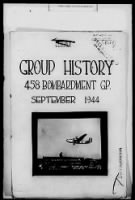 Unit History - 458th Bomb Group record example