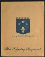 Unit History - 351st Infantry Regiment record example