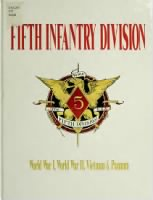 Unit History - 5th Infantry Division record example