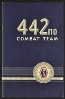 Unit History - 442nd Infantry Regiment record example