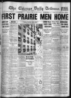 News - The Chicago Tribune record example