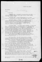 WWI Military Cablegrams - AEF and War Dept record example