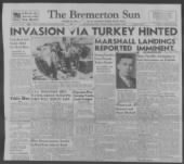 WWII Naval Press Clippings record example