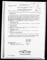 WWII Nuernberg Interrogation Records record example