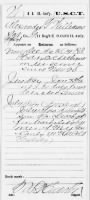 Civil War Service Records (CMSR) - Union - Colored Troops Artillery record example