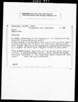 Roberts Commission - Protection of Historical Monuments record example