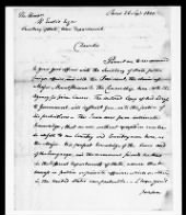 Letters Received by the Adjutant General, 1805-1821 record example