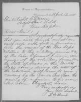 Letters Received by Commission Branch, 1874-1894 record example