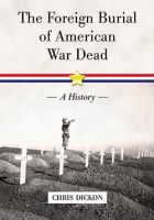 Foreign Burial of American War Dead record example