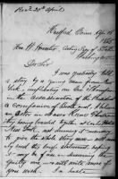 Lincoln Assassination Papers record example