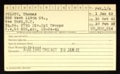 New York Army National Guard Service Cards (Selected) record example