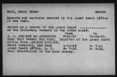 Rendezvous Reports Index - WWI Armed Guard Personnel record example