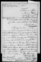 Revolutionary War Manuscript File record example