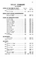 Military Phone Directory record example