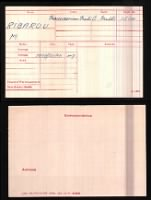 British WWI Medal Rolls Index Cards record example
