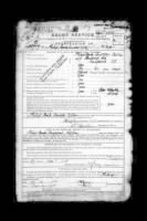 British Army WWI Service Records record example