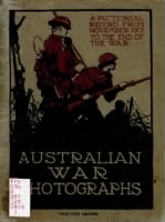 Australia Military Book Collection record example