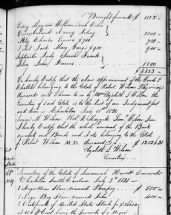Estate Inventory of Richard Jenkins, Wadmalaw Island, Charleston, SC, 1857