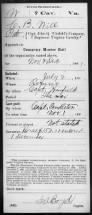 Shenandoah County Collateral Relatives in the Civil War