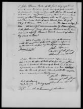 Extract of 18th Century African American Marriage Record