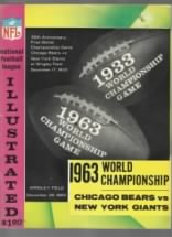 1963 World Champion Chicago Bears