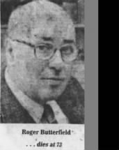 Roger Place Butterfield (1907)