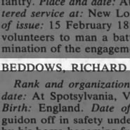 Beddows, Richard