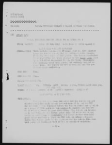 WWII Submarine Patrol Reports