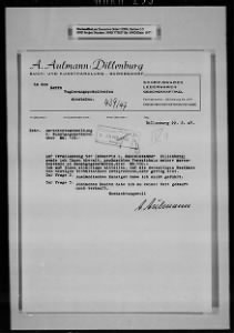 Ardelia Hall Collection: Wiesbaden Administrative Records