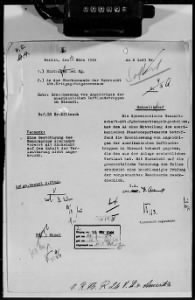 WWII German Documents Among War Crimes Records